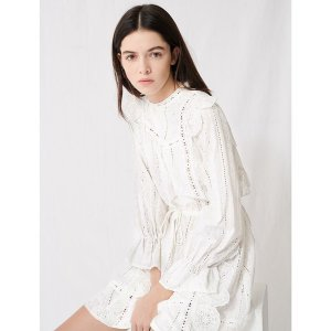MajeRavia Cotton Lace Mini 连衣裙