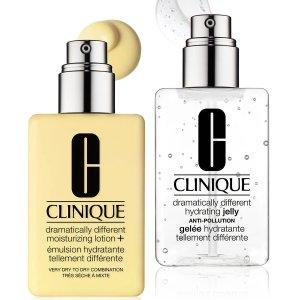 底妆立减$10最后一天:Clinique 全场热卖 双瓶黄油、捏脸霜买2付1 小雏菊6折