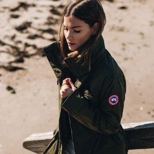 无门槛8折! £396入轻量外套最后一天:Canada Goose 全线大促 Parka、夹克好价入~