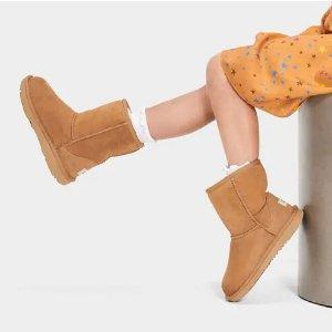 UGG AustraliaClassic II 大童经典雪地靴
