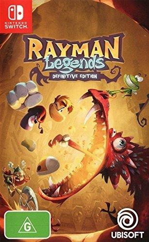 《雷曼:传奇 终结版》 Nintendo Switch 实体版