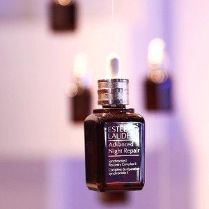注册首单8折+送自选6件好礼即将截止:Estee Lauder 全场美妆护肤品热卖 收明星小棕瓶