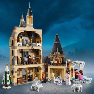 $99.99 (原价$119.99)BD狂欢节:乐高 霍格沃茨钟楼 内含圣诞晚会等细节场景