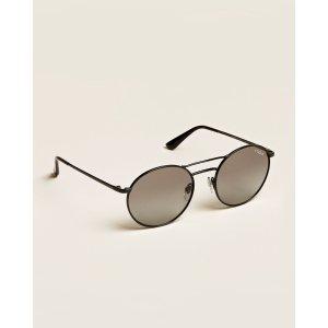VogueVO4061S Black Round Sunglasses