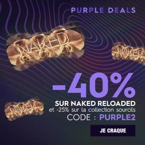 低至6折 €28收Naked Reloaded黑五开抢:Urban decay官网 精选大促 Naked、眼部打底都好用