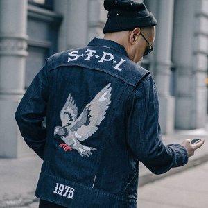 低至5折  收经典501系列Levi's官网精选男士 牛仔裤、T恤、夹克、鞋履热卖