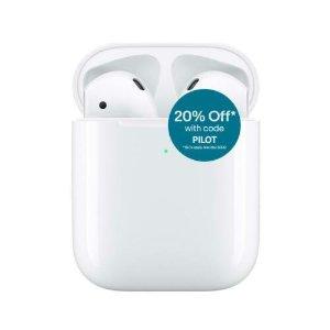 Apple AirPods2 带无线充电盒