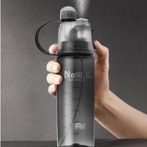SheIn带喷雾的喝水瓶