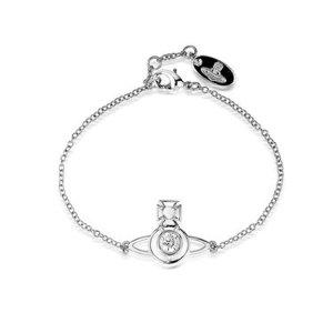 Vivienne Westwood银色手链