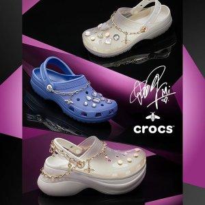 限时折扣 两双€40get限今天:Crocs官网 宅家出街都ok的舒适洞洞鞋