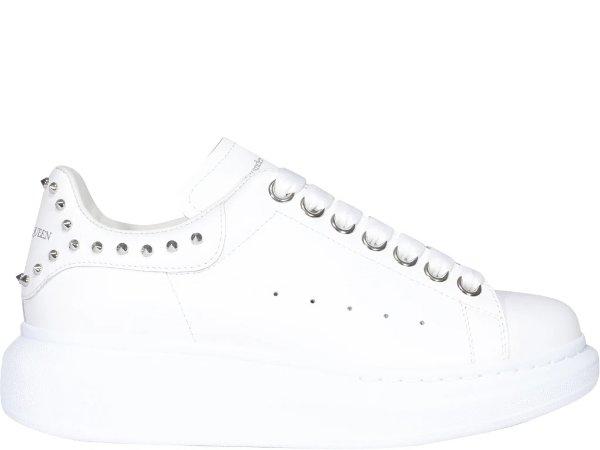 铆钉尾小白鞋