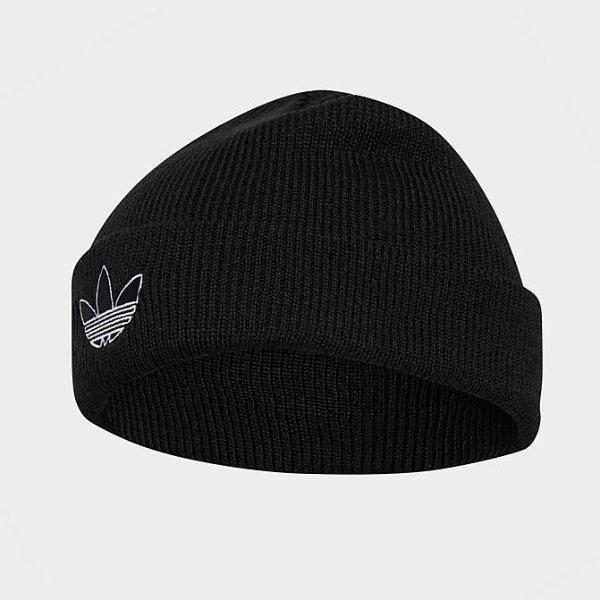 三叶草针织帽