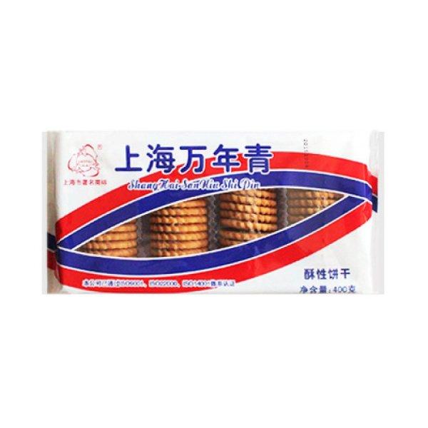 三牛牌 上海万年青 酥性饼干 400g
