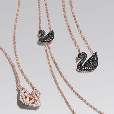 €50+收渐变天鹅和黑天鹅Swarovski 经典天鹅项链热卖 永不过时的天鹅系列