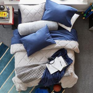 $15.99起JCPenney Home 300支纯棉超柔软床单套装 多色多尺寸可选