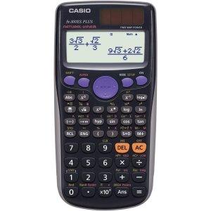 $12.99(原价$17.99)Casio 卡西欧 FX300ES Plus-BU 太阳能工程计算器