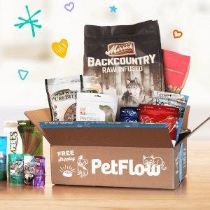 全场7.5折PetFlow 宠物食品、用品、医用品等大促