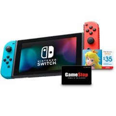 $50 gift card+$35 eshop cashGamestop Cyber Monday Ad Posted