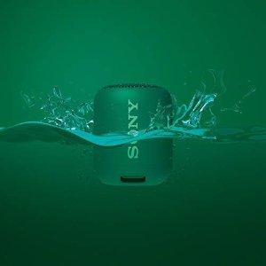 Sony绿色蓝牙音箱