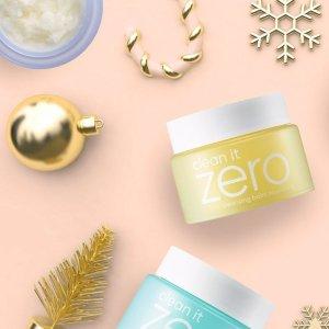 无门槛5折 敏感肌可用温和卸妆膏仅$1211.11独家:Banila Co 卸妆系列Clean it Zero半价大促