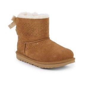 7bf76fac952c UGG AustraliaLittle Girl s   Girl s K Dae Sunshine Suede   Shearling Boots