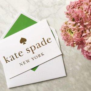 额外7折+满额送零钱包最后一天:Kate Spade 精美包包服饰折上折热卖