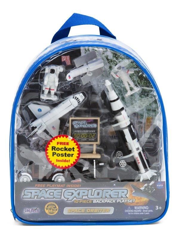 10pc 太空玩具套装