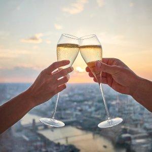 £25起给ta一个浪漫难忘的回忆伦敦最高点 碎片大厦喝香槟看日落 浪漫Skyline