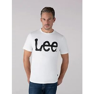 LeeMen's Jersey Knit Lee Logo Tee | Men's T-Shirts | Lee®