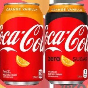 橙子香草口味,想不想试试?相隔12年,肥宅快乐水再出新品!