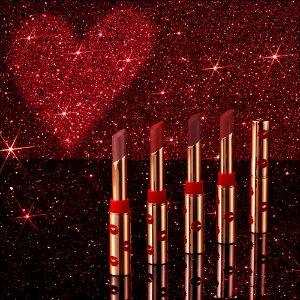 满送2件好礼上新:Charlotte Tilbury 圣诞限定开售 收红唇细管、倒数日历