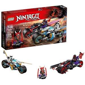 cdc924f5ccf80 LegoNINJAGO Street Race of Snake Jaguar 70639 Building Kit (308 Piece)