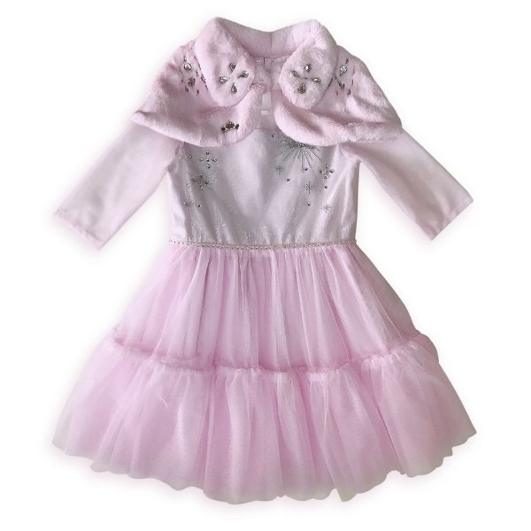 女童公主风连身裙+披肩
