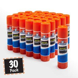 Elmer's All Purpose Glue Sticks, Washable, 30 Count