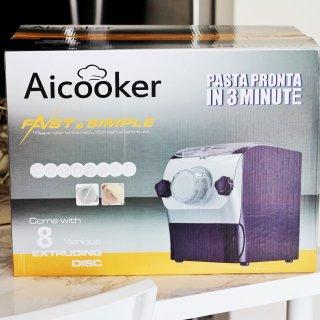 解放双手,助你变身面食达人的Aicooker M3全自动面条机 |【附6款私房面食谱】