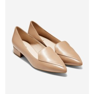 Cole HaanWomen's Dellora Skimmer in Toasted Almond Leather