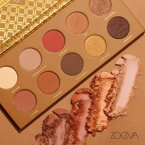 限时2小时7.8折+直邮中国ZOEVA  美妆精选热卖   收南瓜盘、玫瑰金盘、可可盘、长相思盘、