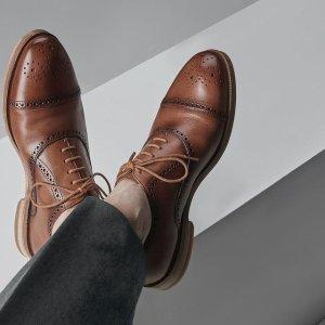 低至5折!€31收系带皮鞋Clarks官网 英伦风男鞋热促 时尚又舒适 皮鞋、运动鞋都有