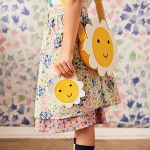 低至7折 $14收碎花布兜Cath Kidston 英国本土知名品牌 $27封面同款雏菊背包