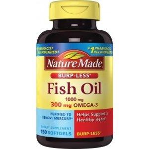 Nature Made鱼油 150粒