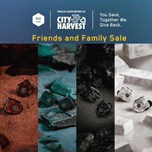 75% Off w/ Purchase $100+M&D Friends&Family Sale