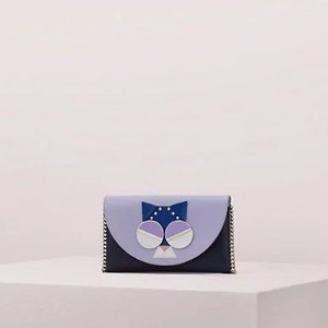 Kate Spadespademals smitten kitten chain wallet crossbody