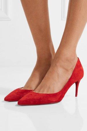 Christian Louboutin 大红色高跟鞋