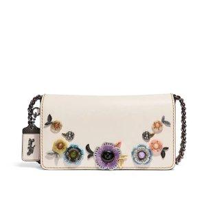CoachDinky Tea Rose Crossbody Bag