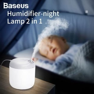 $21.79 包邮Baseus 小夜灯+助眠加湿器