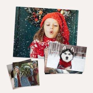 Walgreens 打印5张4X6照片