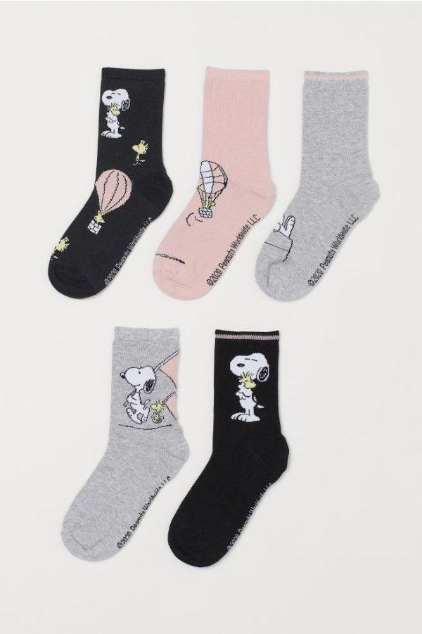 袜子X5双