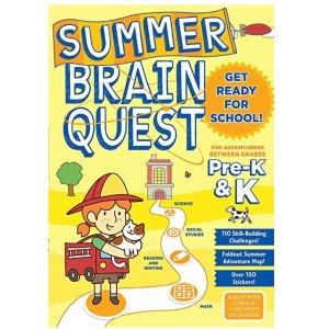 低至5折 全美教育类#1畅销书幼小 Brain Quest习题册 卡片热卖,宅家学习好帮手