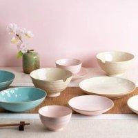 LIFEASE 樱花设计的多色餐具10件套