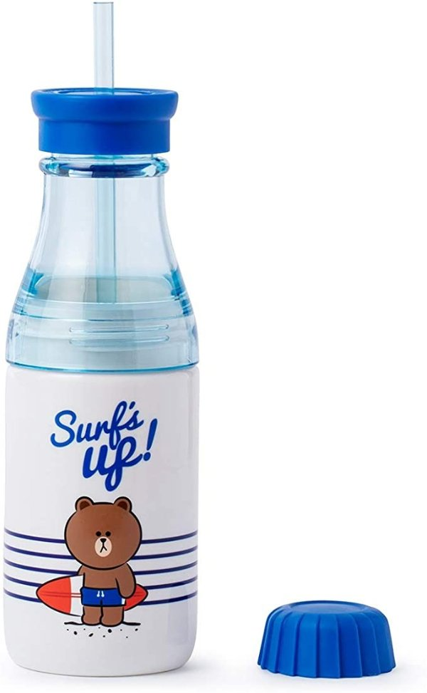 布朗熊 双层饮水杯